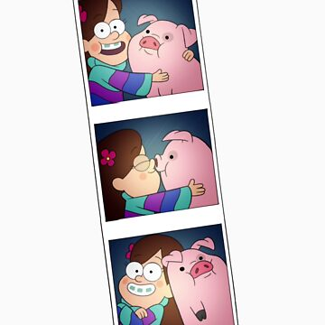 Mable and Waddles Photobooth by Bronydragon