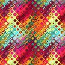 Liquid Rainbow Dots by pjwuebker