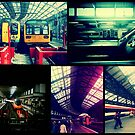 Trains Collage by TalBright