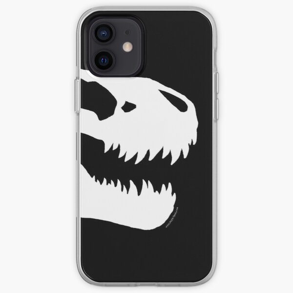Tyrannosaur Skull #2 iPhone Soft Case