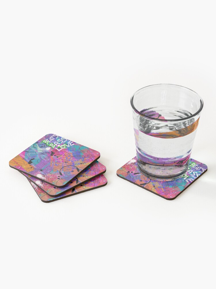 Alternate view of Boombot City Coasters (Set of 4)