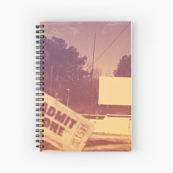 Drive-in Theater by Jan Marvin Spiral Notebook
