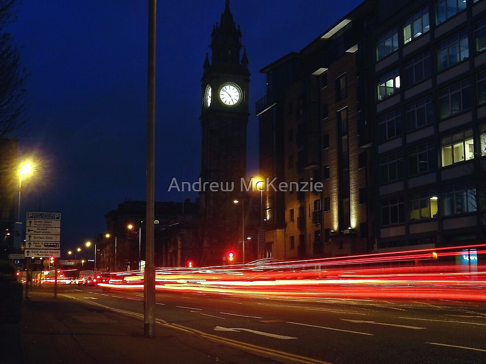 The Leaning Clock by Andrew McKenzie