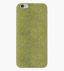 Grungy Yellow Micro Dots iPhone Case