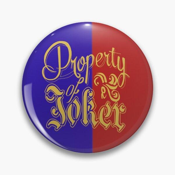 Propriété de Joker Badge