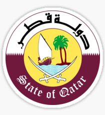 Emblem of Qatar Sticker