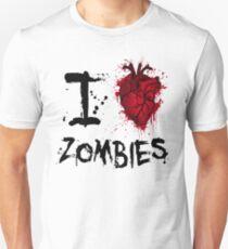 I heart zombies Slim Fit T-Shirt