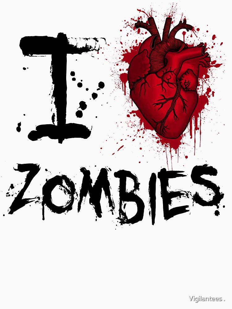 I heart zombies by samvere