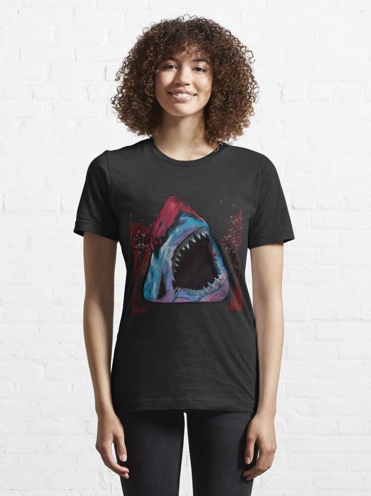 Alternate view of 12th Doctor Galaxy Shark T-Shirt Essential T-Shirt
