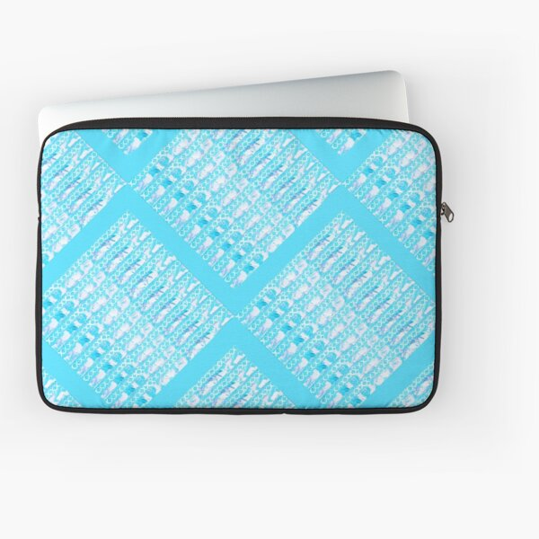 Turquoise Links by Jan Marvin Laptop Sleeve