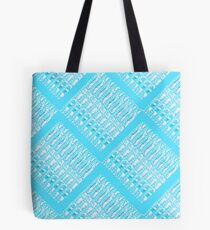 Turquoise Links by Jan Marvin Tote Bag