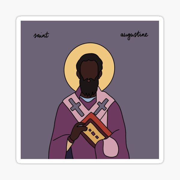 Saint Augustine Sticker