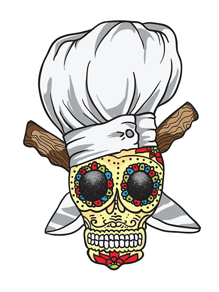 Chef Skull by Little-Foodie