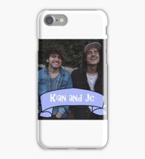 Kian and Jc blue  iPhone Case/Skin