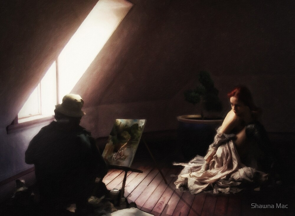 The Painting in the Attic by Shawna Mac