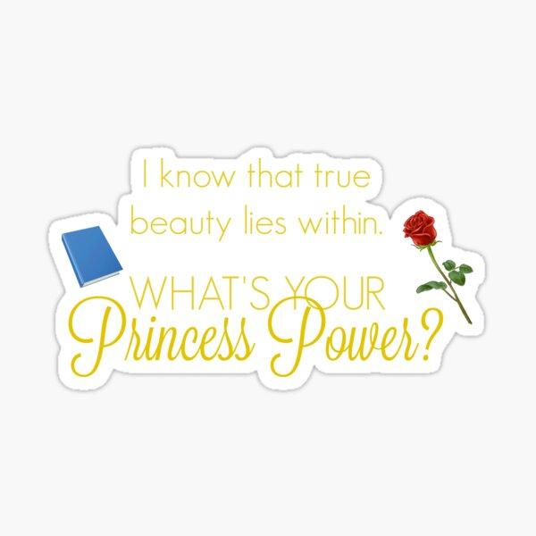 Princess Power - Ballgown Beauty Sticker