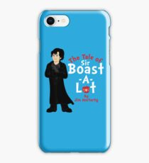 The Tale of Sir Boast-A-Lot iPhone Case/Skin