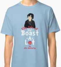The Tale of Sir Boast-A-Lot (Vertical Variant) Classic T-Shirt