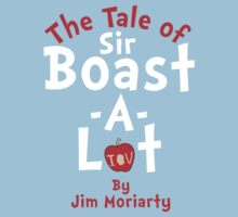 The Tale of Sir Boast-A-Lot (Just Title Variant) | Unisex T-Shirt