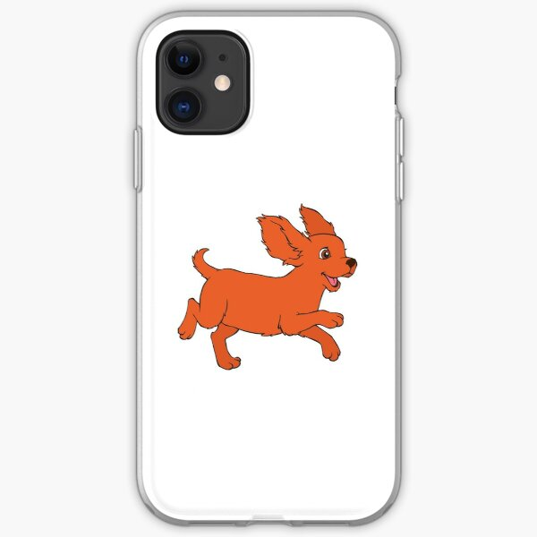 Happy Cavalier King Charles Spaniel iPhone Soft Case