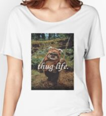 Ewok Thug Life Women's Relaxed Fit T-Shirt