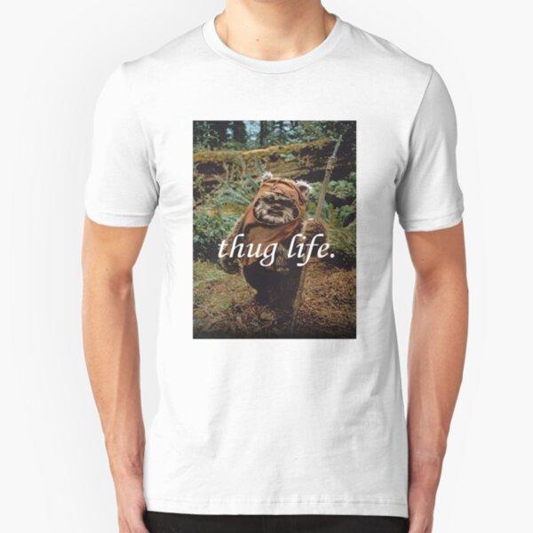 Ewok Thug Life Slim Fit T-Shirt