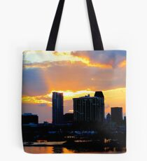 Glorious End of Day Tote Bag