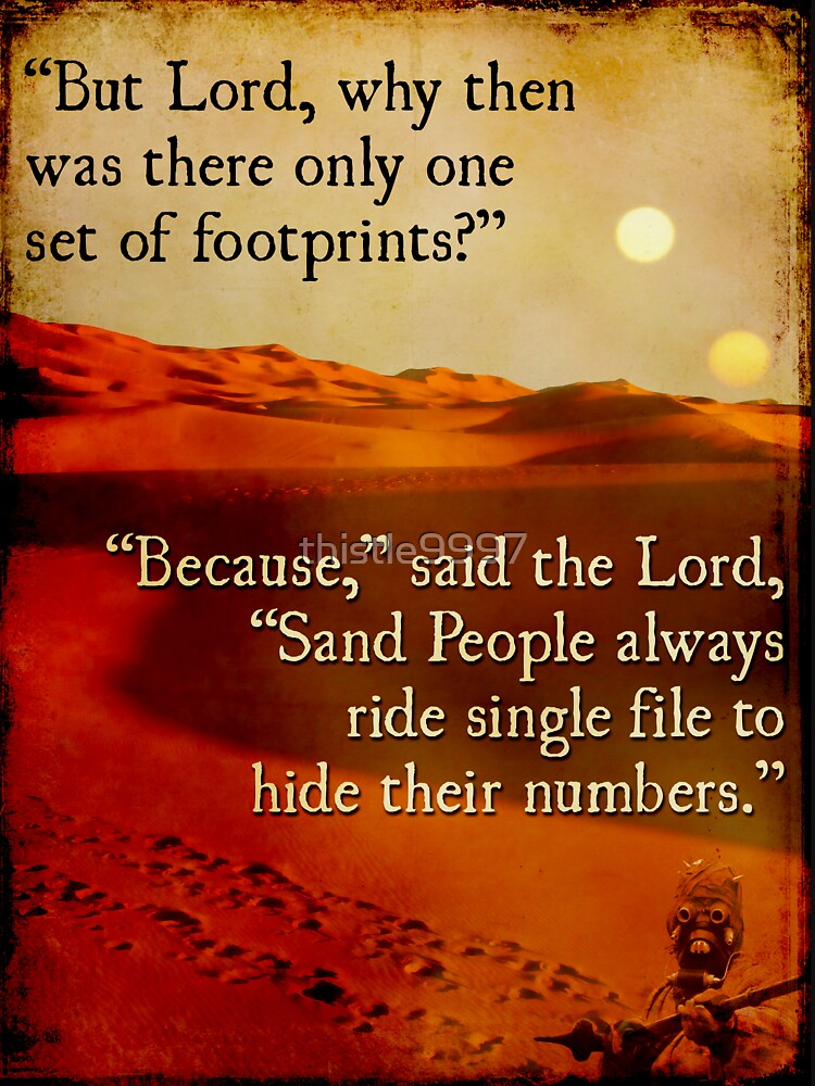 Footprints in the Sand People by thistle9997