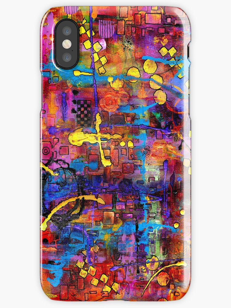 Streetwalking - iPhone Case by © Angela L Walker