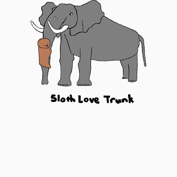 Sloth Love Trunk by slothlovelife