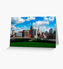 Cincinnati Skyline 7 Greeting Card