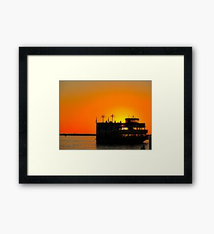 Calypso Queen Framed Print
