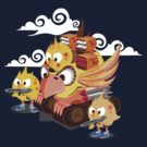 Armed chikens by jmlfreeman