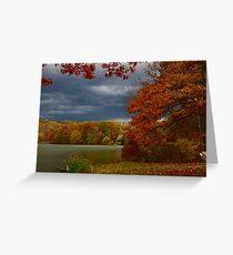 Putnam Lake, Patterson, New York Greeting Card