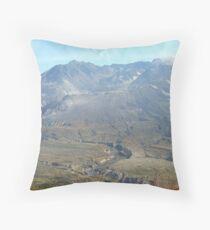 Mount St Helens  Throw Pillow