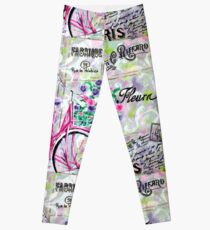 Paris by Jan Marvin Leggings