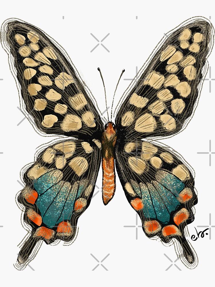 Delicate butterfly by ebozzastudio