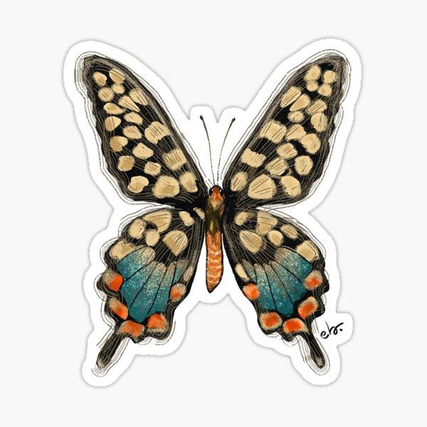 Delicate butterfly Sticker