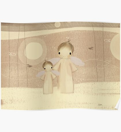 pair of angels Poster
