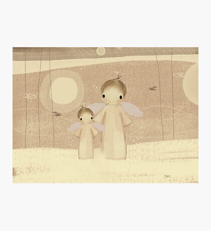 pair of angels Photographic Print