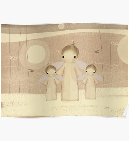 trio of angels Poster