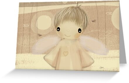little angel by Karin Taylor