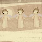 three little angels by Karin Taylor