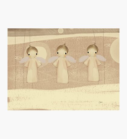 three little angels Photographic Print