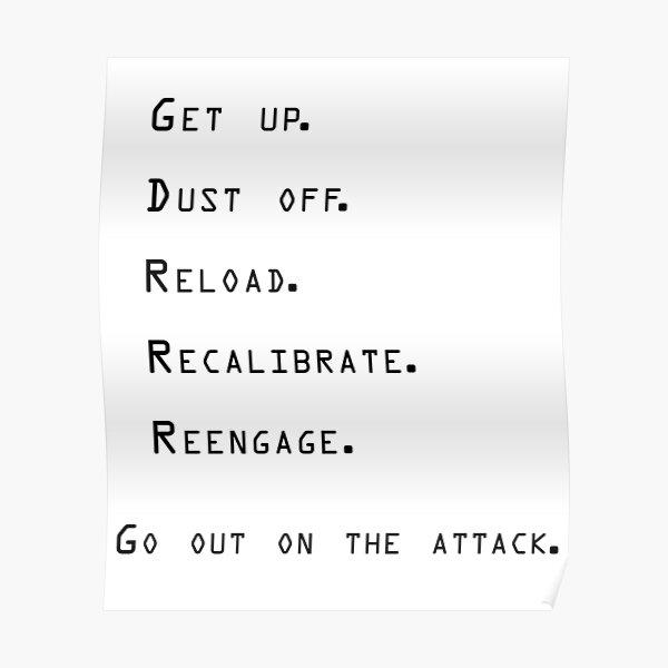 Jocko Willink 'ATTACK' Inspirational  Poster