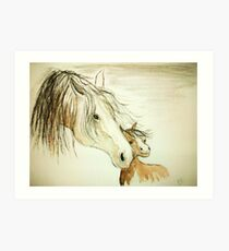 Tenderness... Art Print