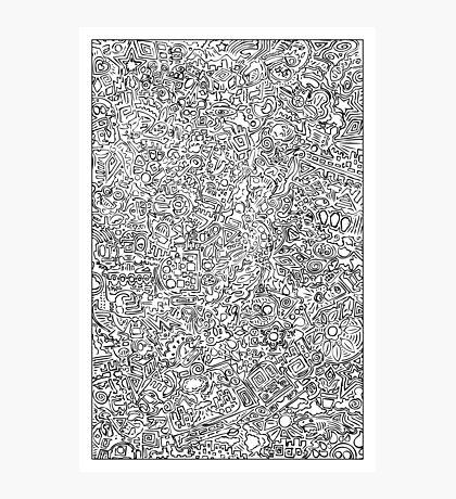 Scrawl Photographic Print