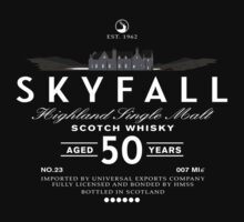 Skyfall Scotch Whisky   Unisex T-Shirt