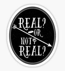 Real Sticker