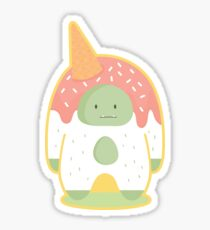 Sweet Confetti Yeti  Sticker